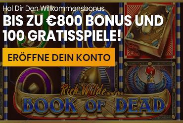 Hyper Casino Welcome Bonus DE