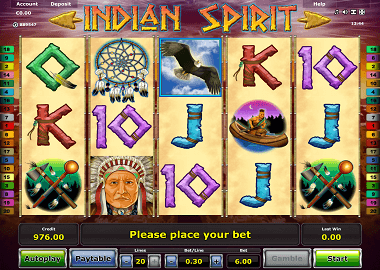 Indian Spirit Online Slot