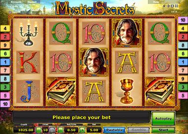 Mystic Secrets Online Slot