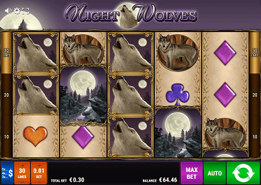 Night Wolves Online Slot