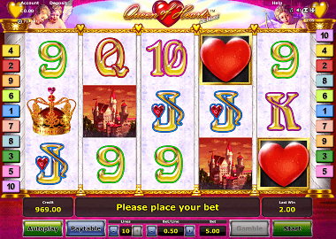 Queen of Hearts Online Slot