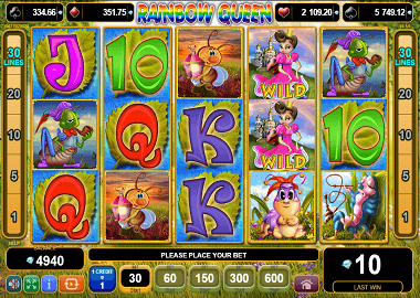 Rainbow Queen Online Slot