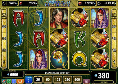 Secrets of Alchemy Online Slot