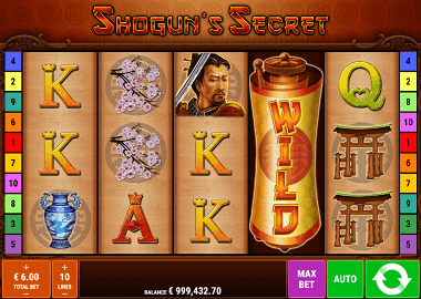 Shoguns Secret Online Slot