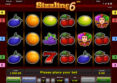 Sizzling 6 Online Slot