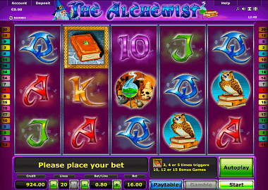 The Alchemist Online Slot