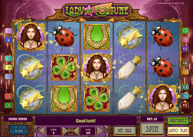 Lady of Fortune Online Slot