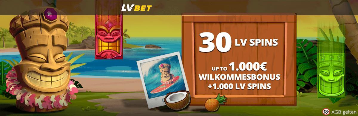 LVbet Casino 30 Freispiele