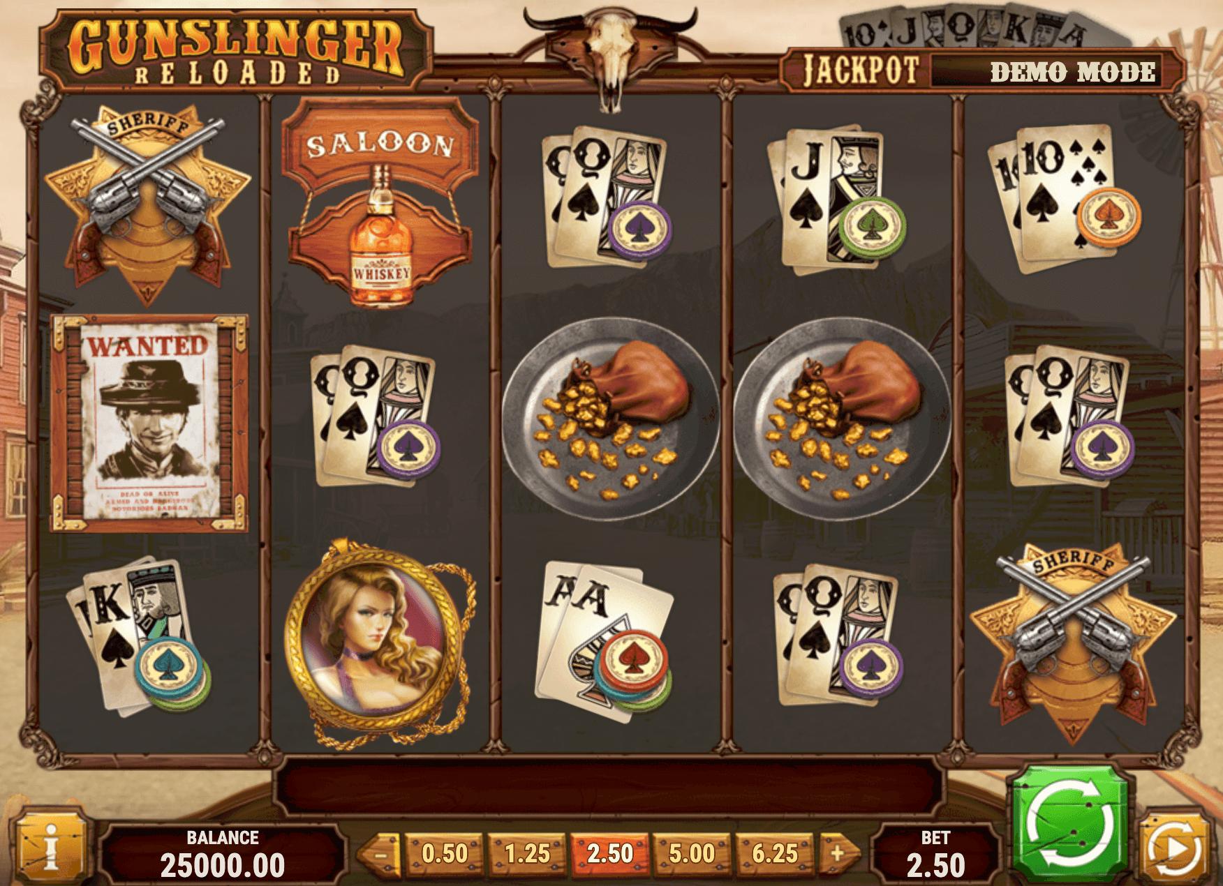 Gunslinger Online Slot