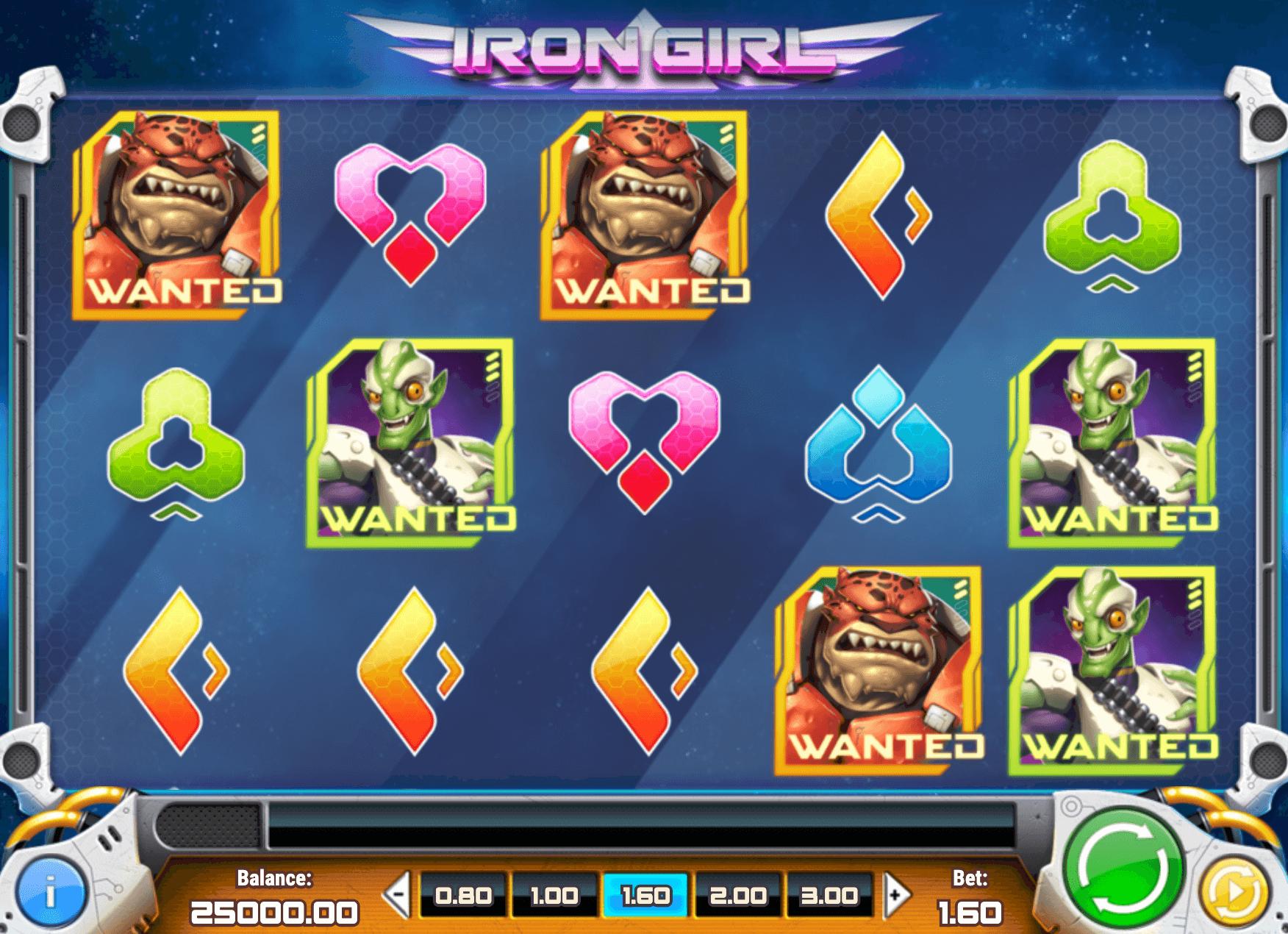 Iron Girl Online Slot