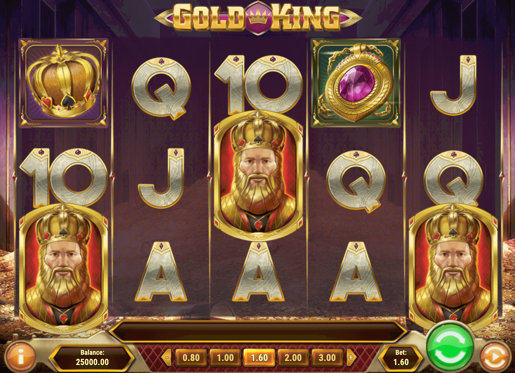 Gold King Online Slot