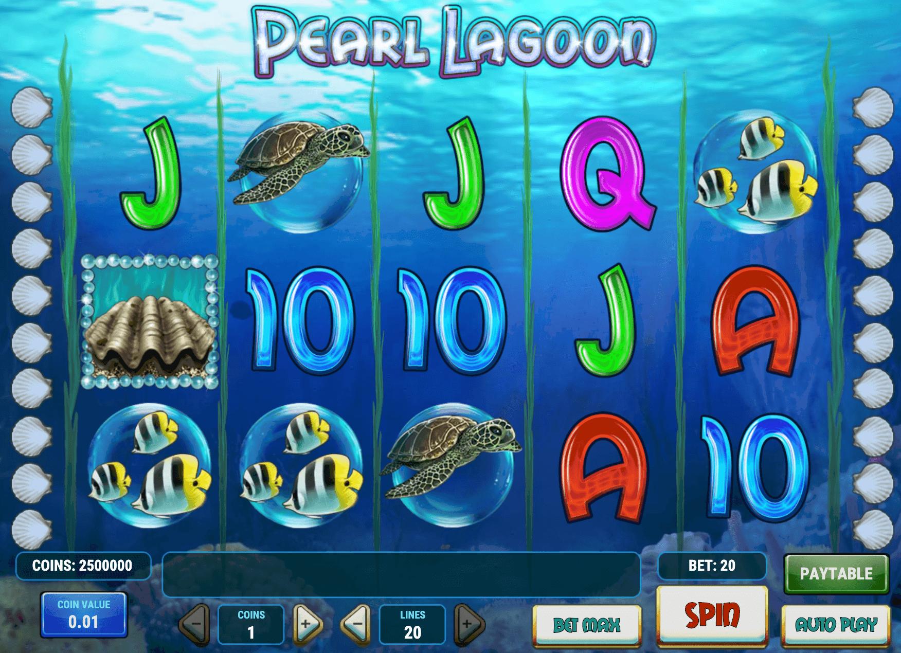 Pearl Lagoon Online Slot