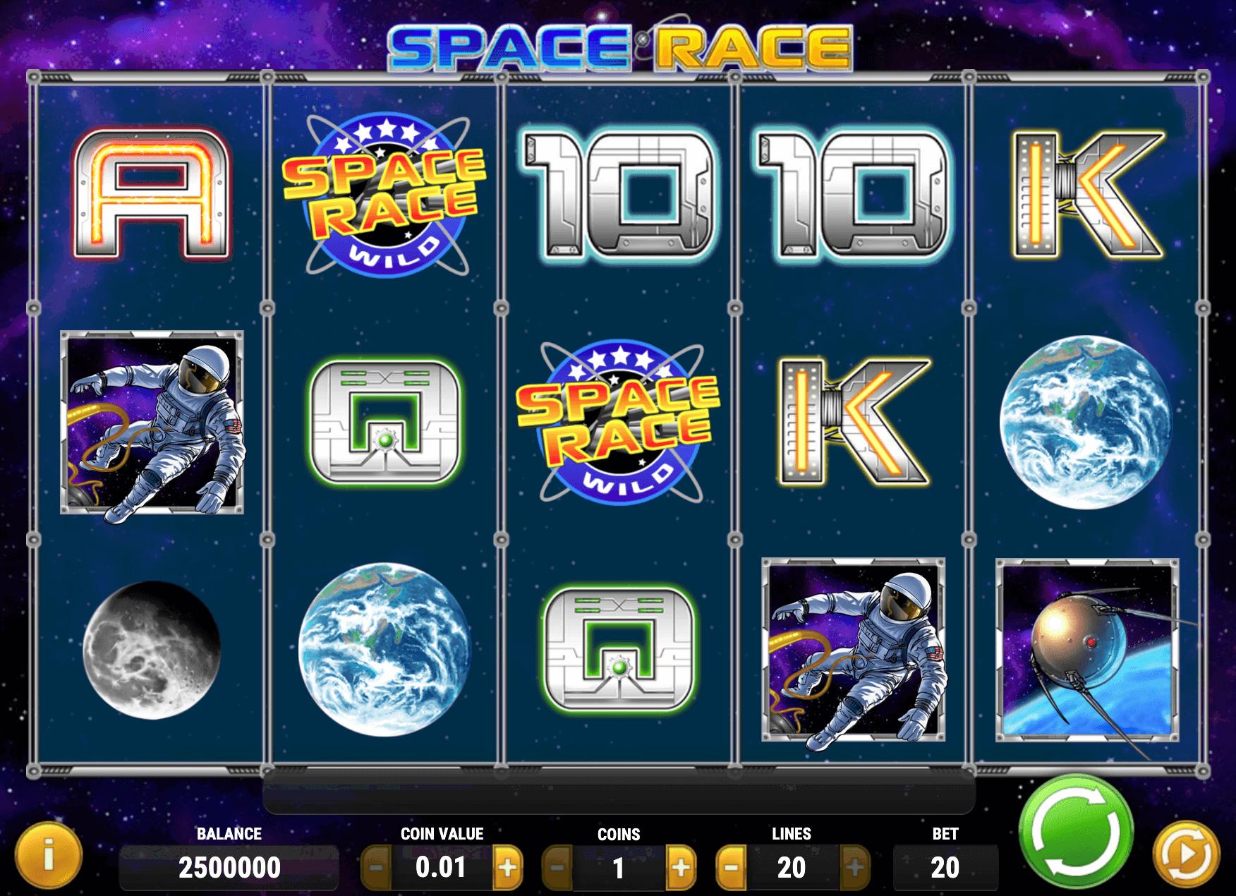 Space Race Online Slot