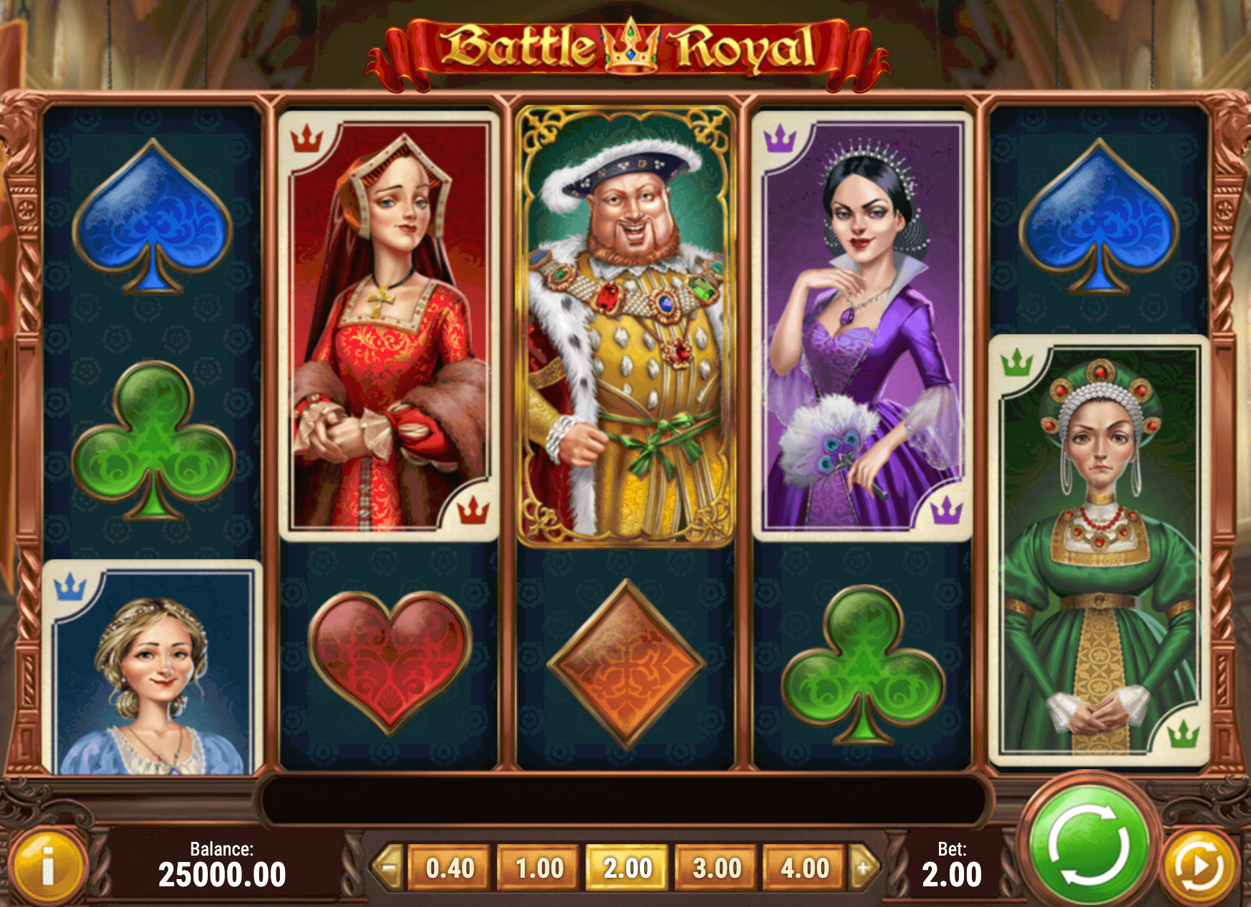 Battle Royal Online Slot