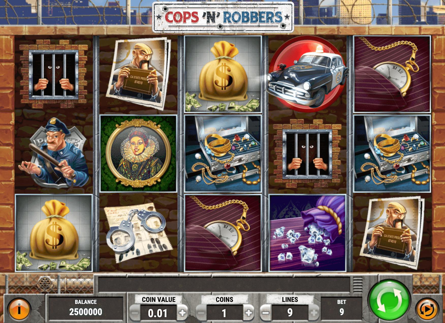 Cops'n' Robbers Online Slot