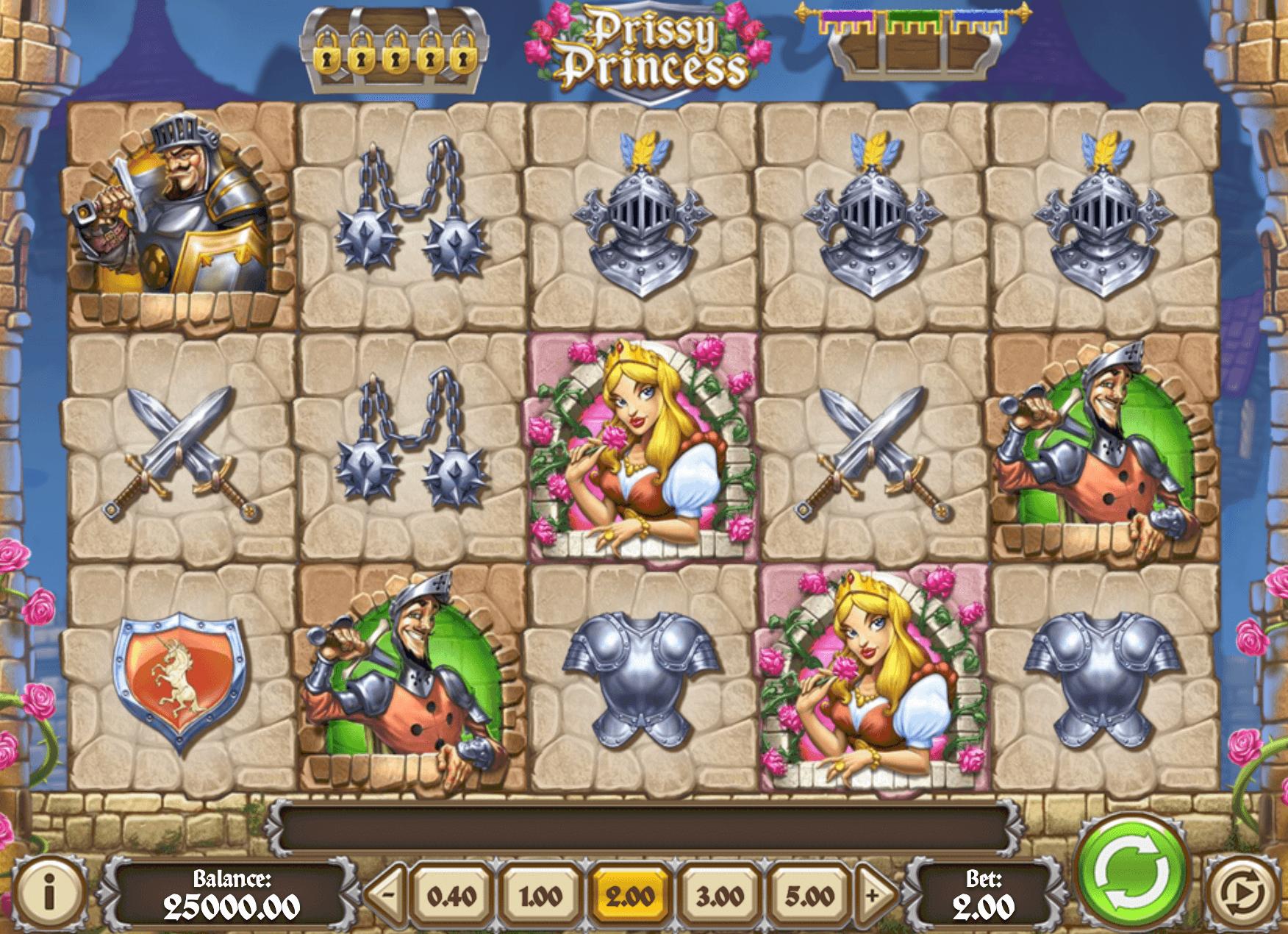 Prissy Princess Online Slot