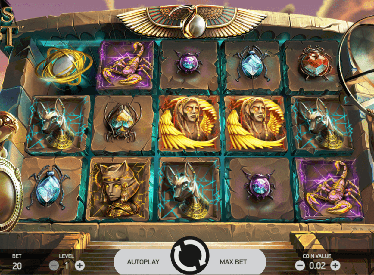 Coins of Egypt Online Slot