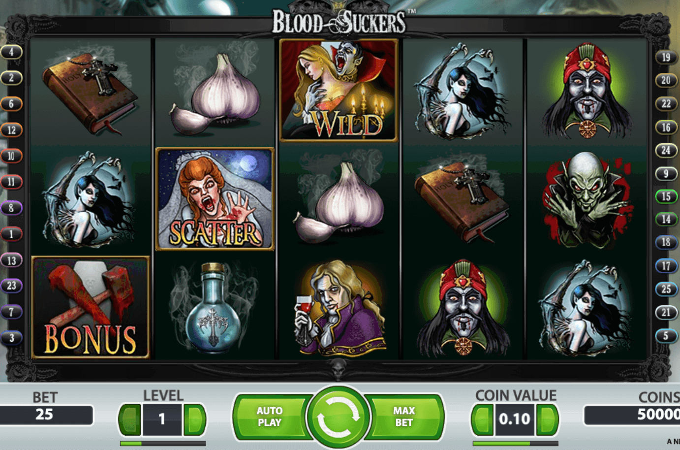 Bloodsuckers Online Slot