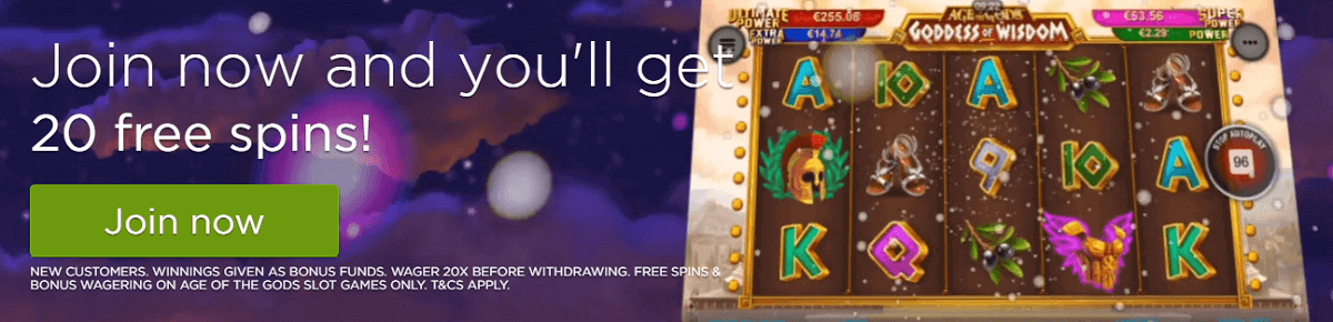CasinoCom Free Spins
