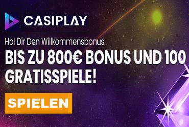 Casiplay Willkommens Bonus