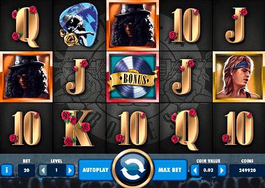 Guns'n Roses Online Slot