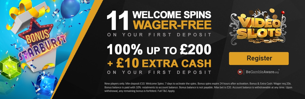 Videoslots Casino No Wager Free Spins