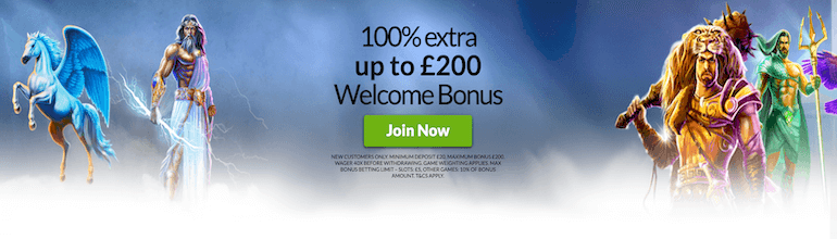 Mansion Casino UK Bonus