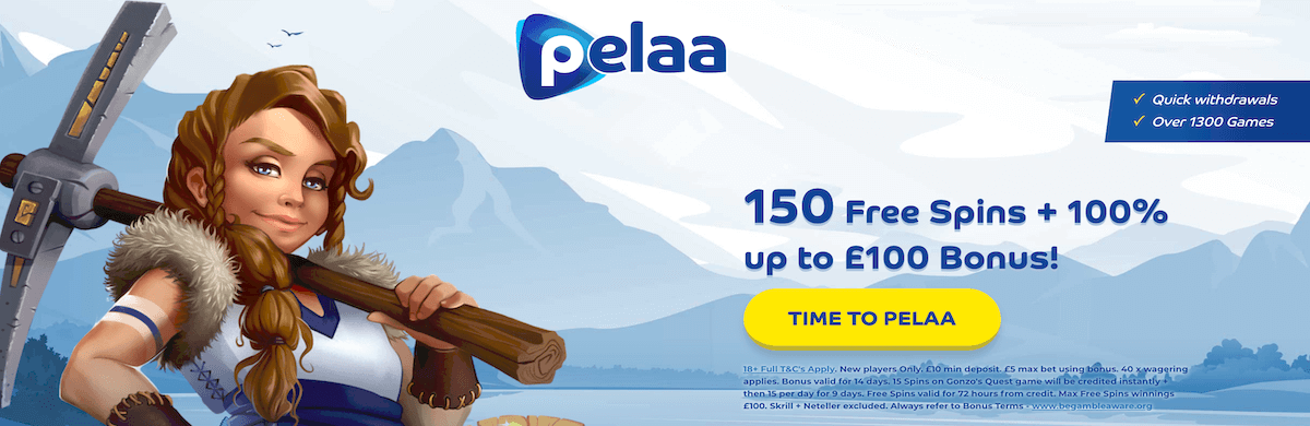 Pelaa Casino Bonus UK Free Spins