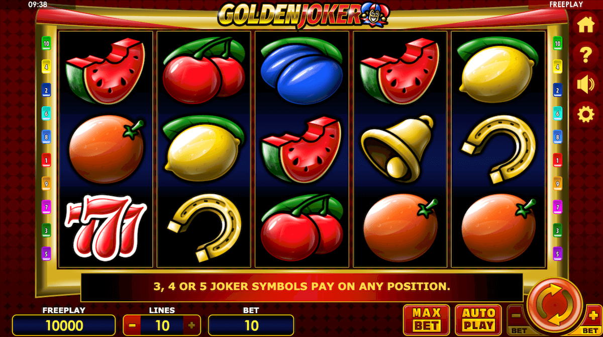Golden Joker Slot