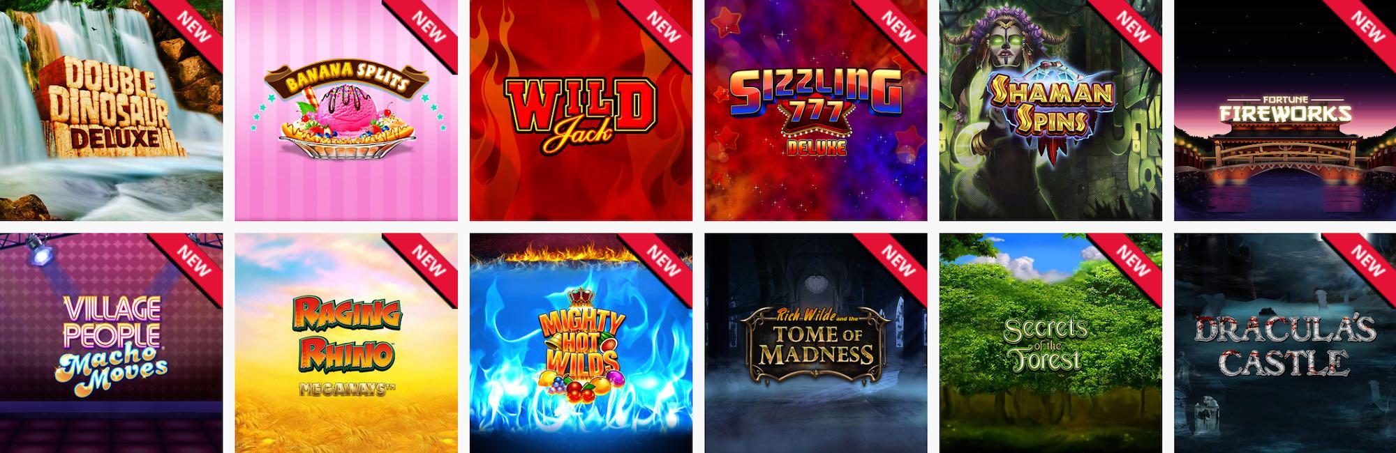 Dream Vegas Casino Spiele