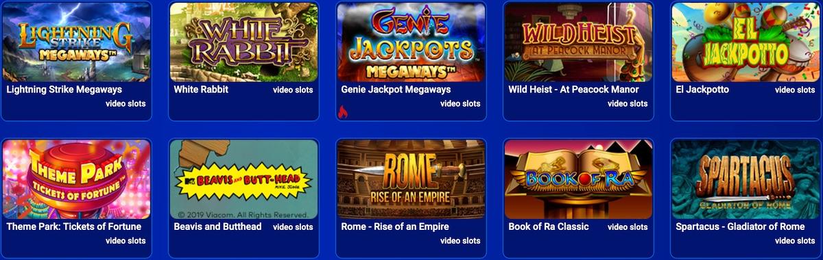 All British Casinos Games
