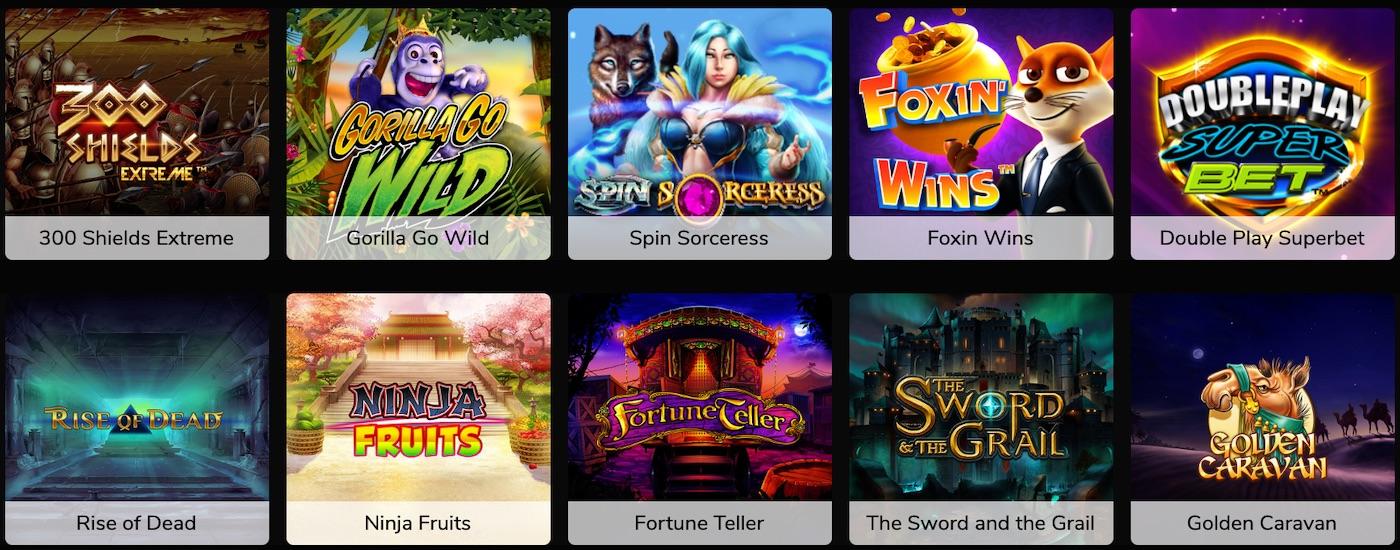 Jackpot Village Spiele