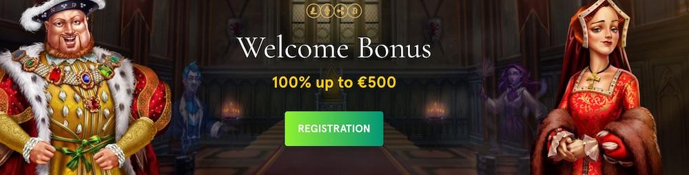 Casinia Welocome Bonus