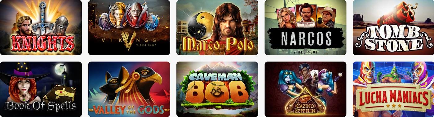 Light Casino Games