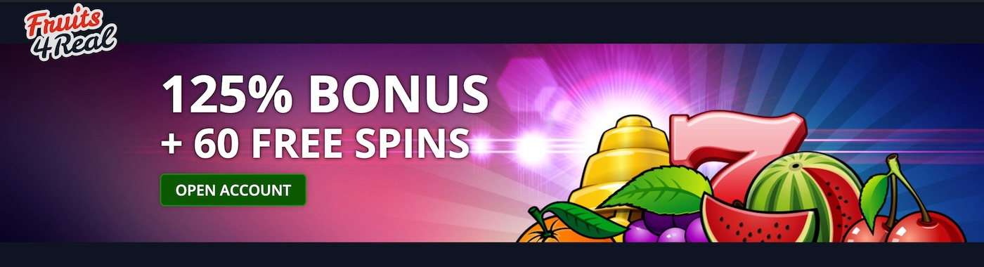 Fruits4Real Casino Bonus