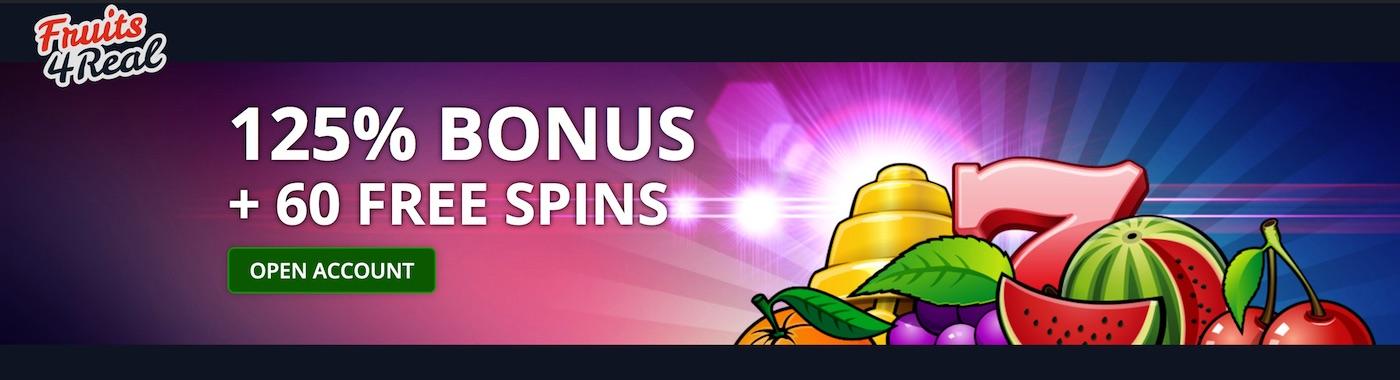 Fruits4Real Casino Bonus