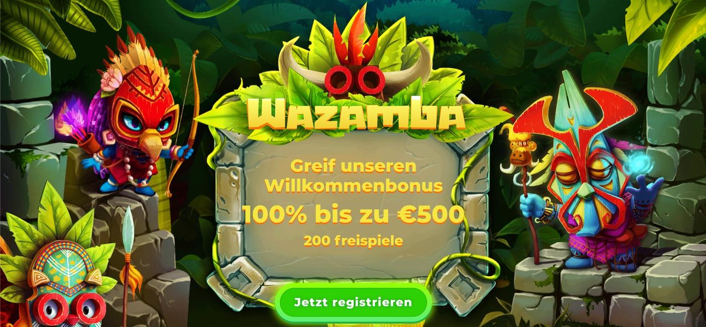 Wazamba Willkommens Bonus