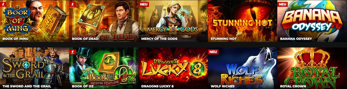 Energy Casino Games