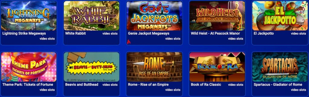 All Britis Casino Spiele