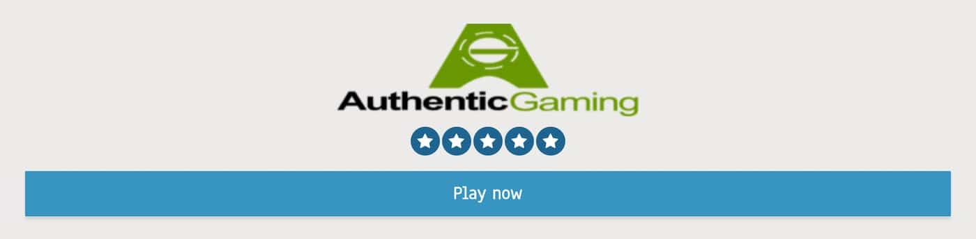 Authentic Gaming Live Casino