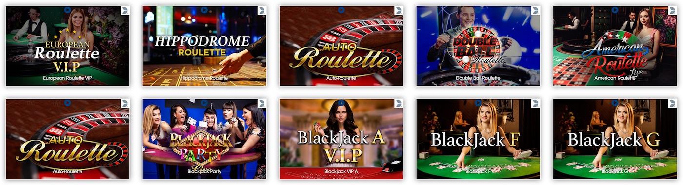Evolution Gaming Black Jack Roulette