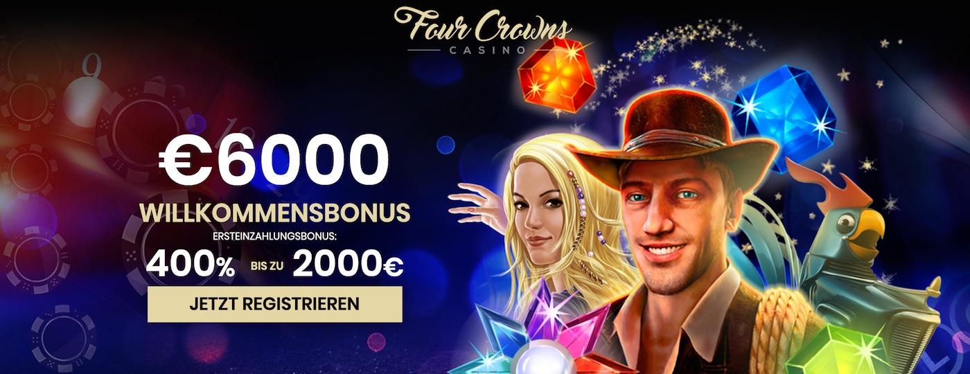 Novoline Spielen im Four Crowns Casino