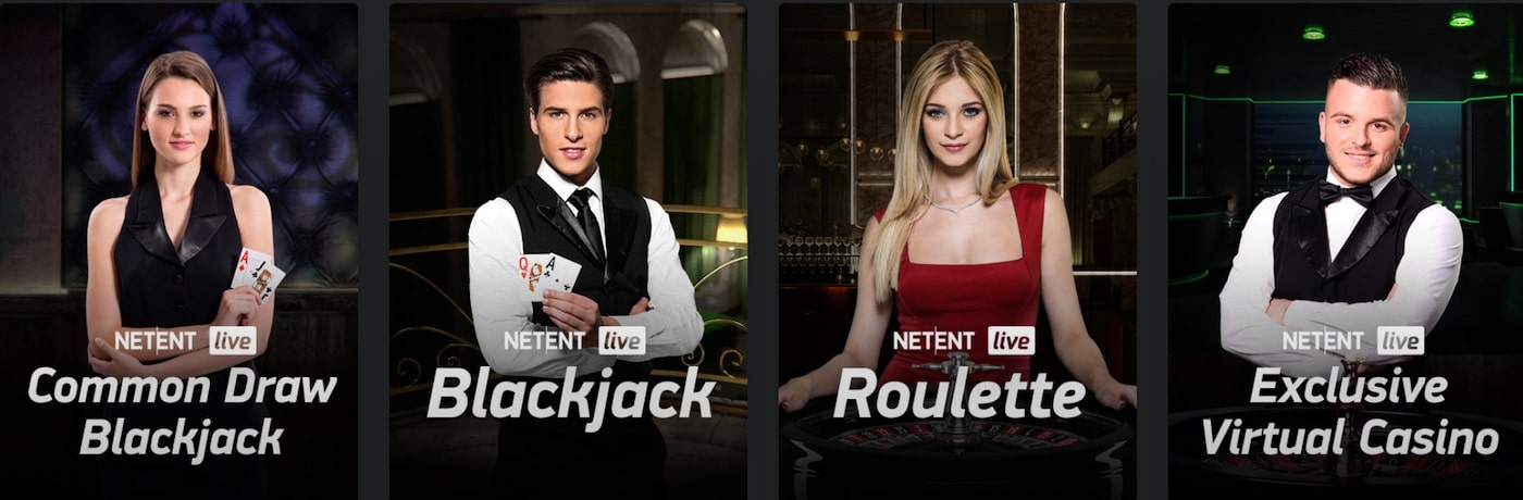 Netent Live Casino Games