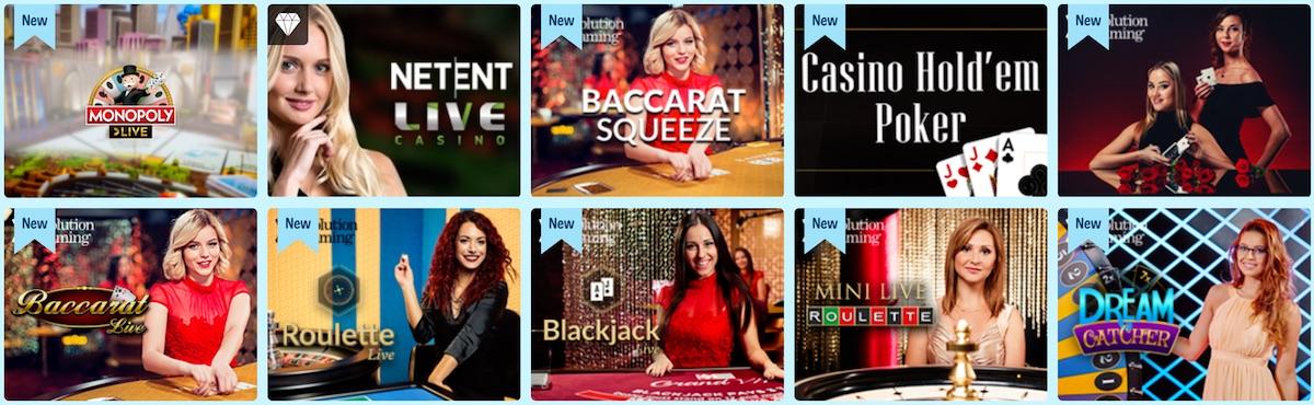 Craze Play Live Casino