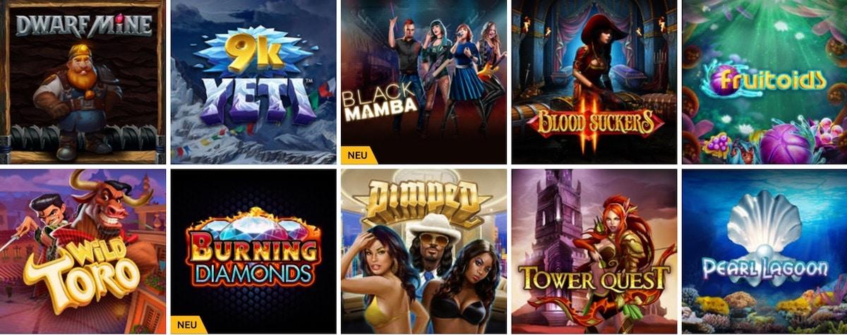 Drück Glück Casino Slots