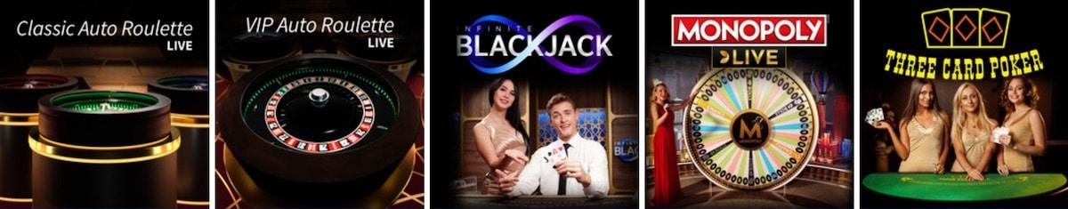 EU Casino Live Games