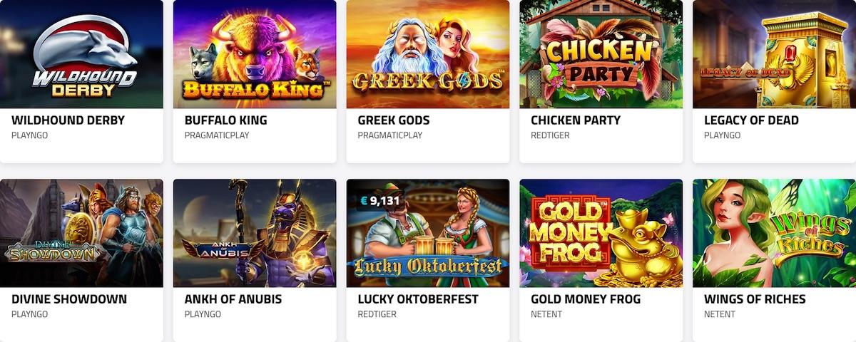 Lucky Dino Casino Games