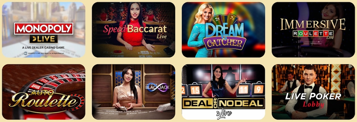 Casoola Casino Live Games