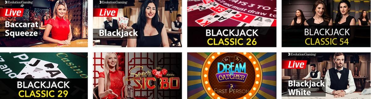 Maneki Casino Live Spiele